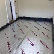 Garage Conversion - UnderFloor insulation