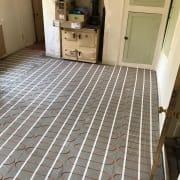 Installing the Underfloor Heating