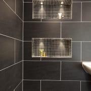 Garage Conversion - Shower Shelving