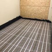 Garage Conversion - Under Floor Heating